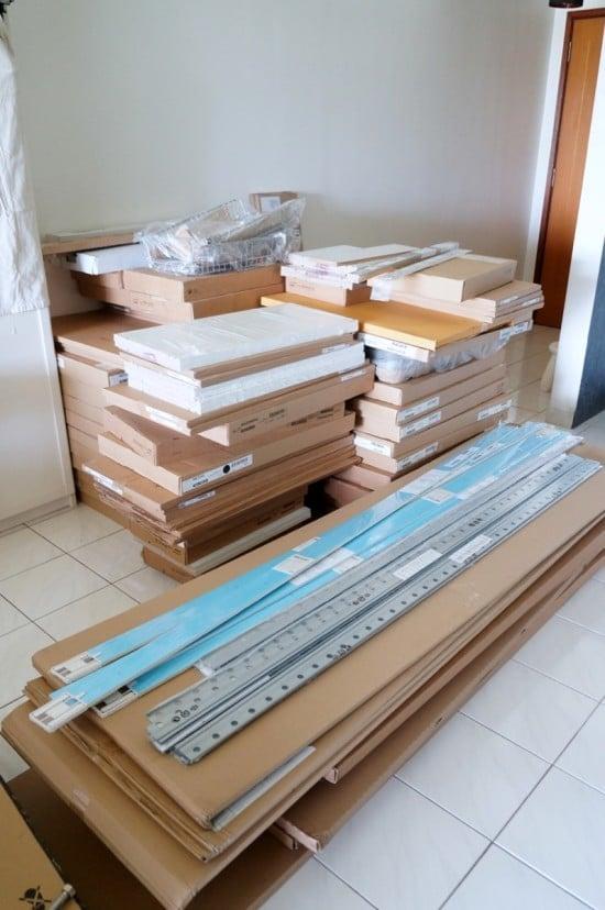 my IKEA kitchen makeover installation_5