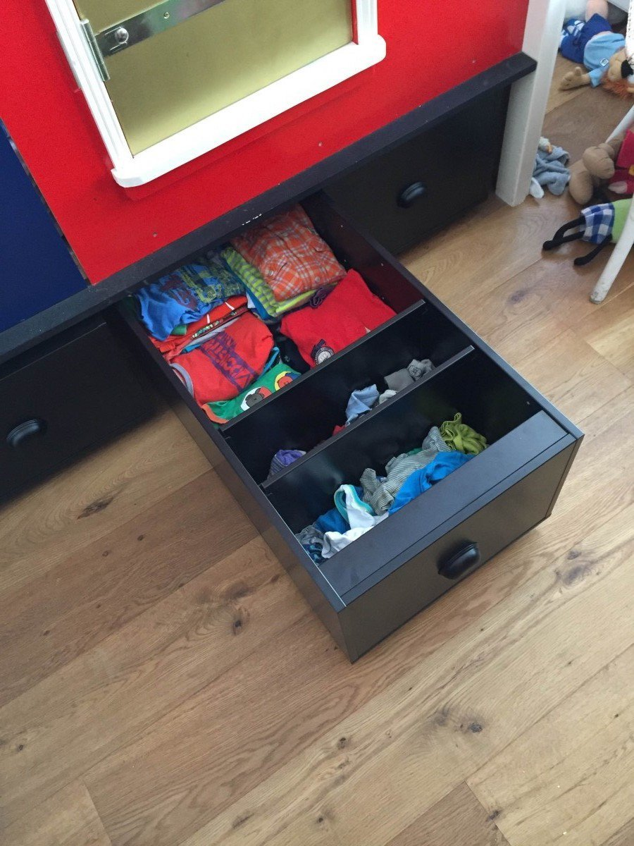 turn the trofast frame into a rolling drawer ikea. Black Bedroom Furniture Sets. Home Design Ideas