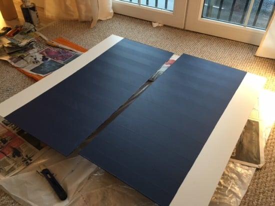 Designing the sliding doors