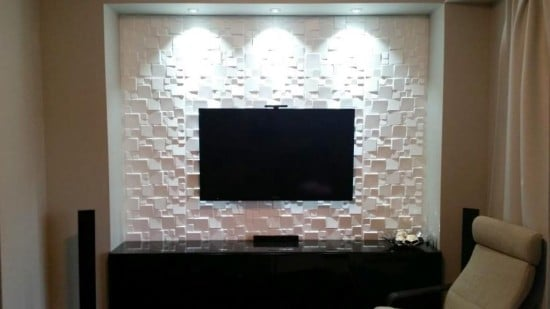 Besta living room storage front