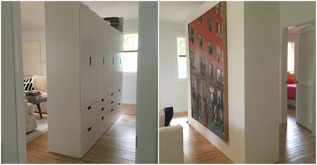 Free Standing Stuva Room Divider Ikea Hackers Ikea Hackers