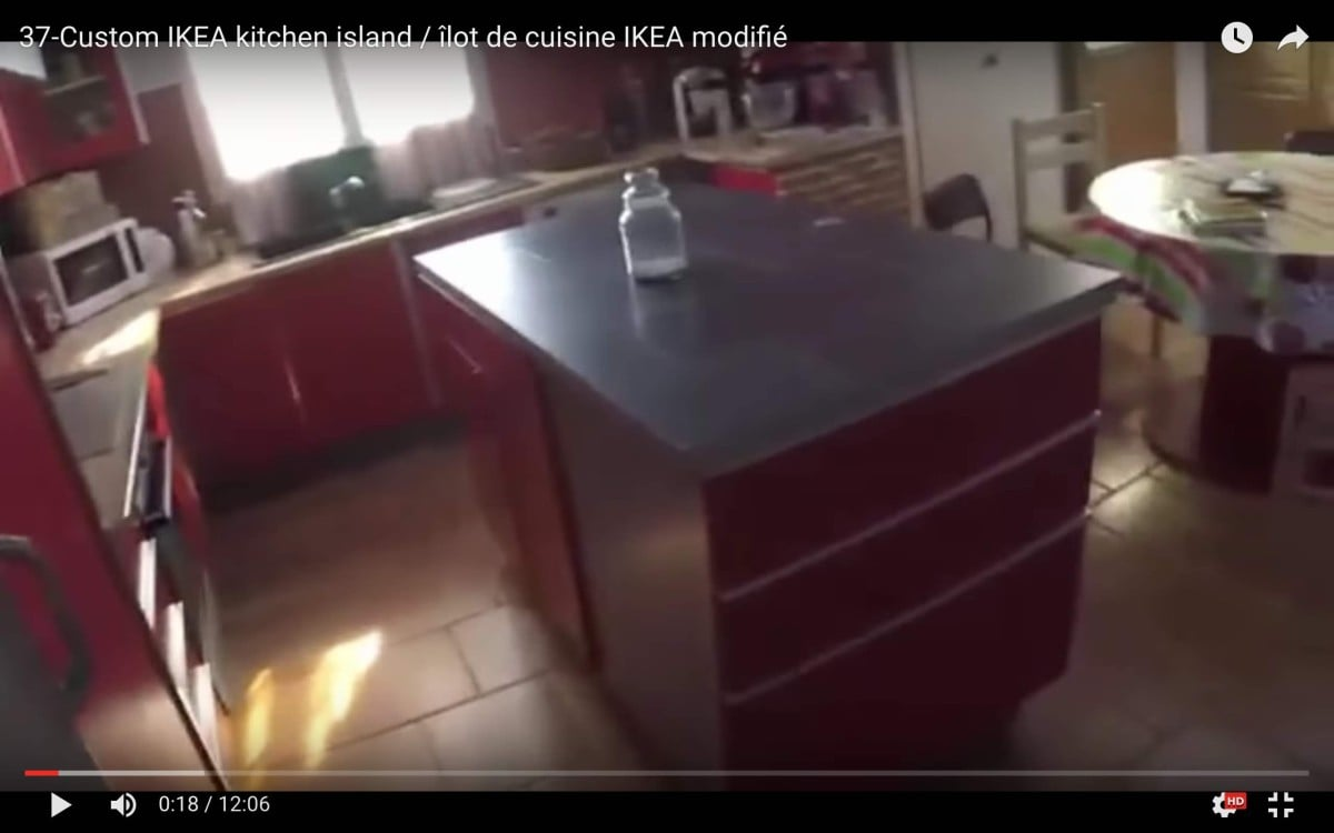 Custom IKEA Kitchen Island IKEA Hackers - Kitchen islands at ikea