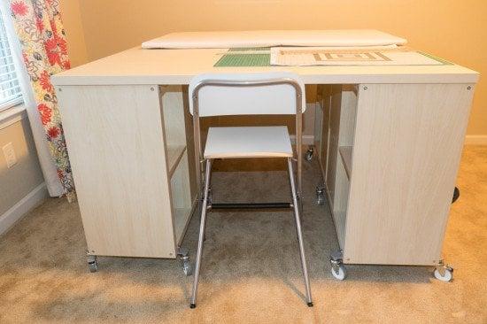 KALLAX crafting table 1