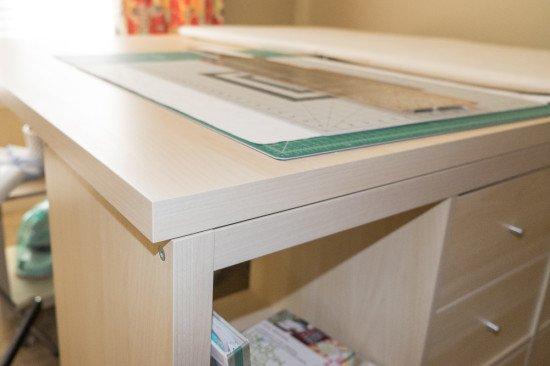 KALLAX crafting table 3