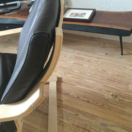 IKEA POANG with no headrest