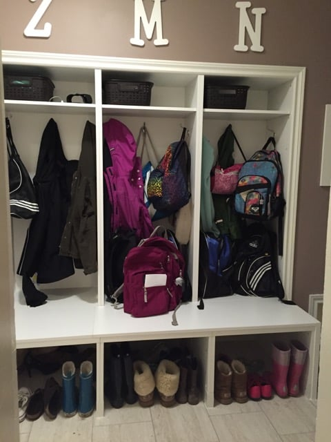 best hack large mudroom lockers with bench ikea hackers ikea hackers. Black Bedroom Furniture Sets. Home Design Ideas