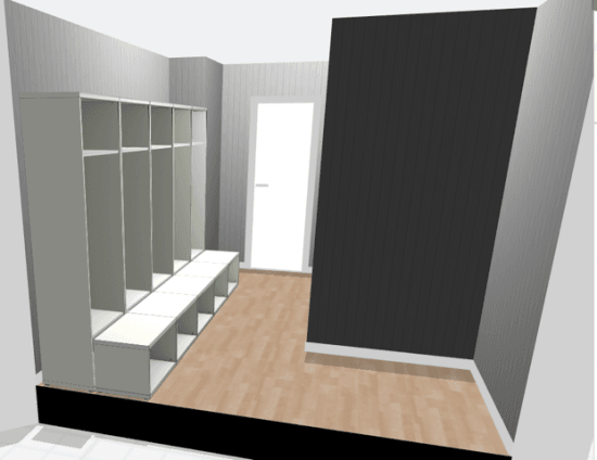 Tweaking the Large Mudroom Lockers on the IKEA BESTÅ planner