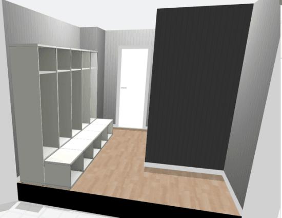 Tweaking the Large Mudroom Lockers on the IKEA BESTÅ planner