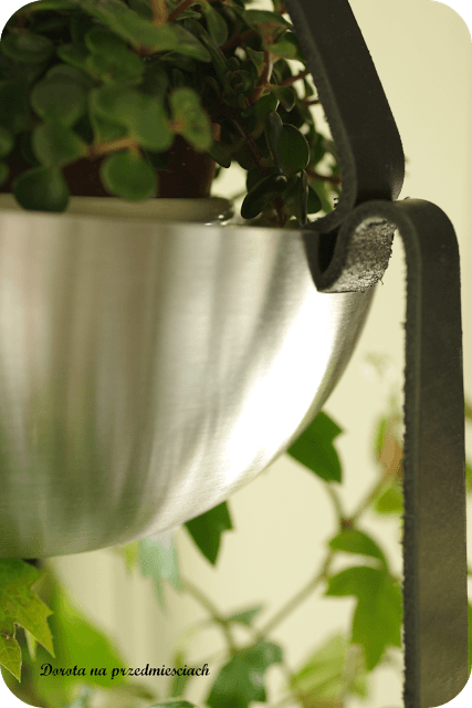 DIY hanging plant pot with BLANDA BLANK