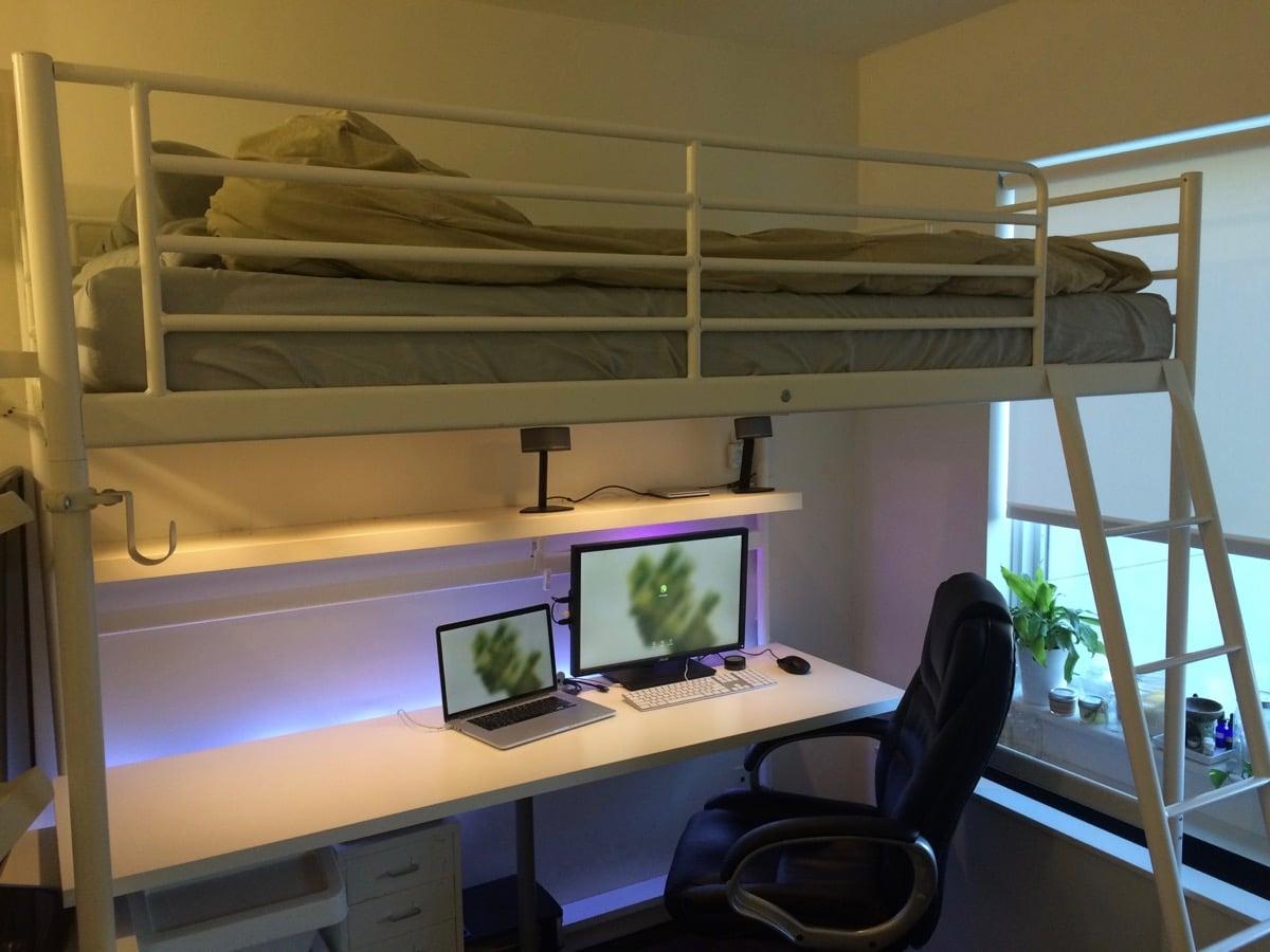 Troms 214 Sleep Work Play Fortress Ikea Hackers Ikea Hackers