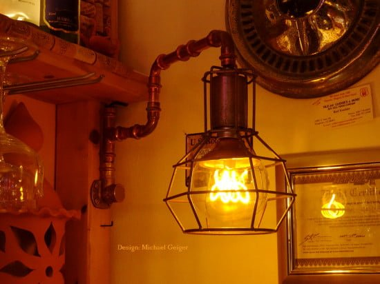 lamp for bar counter