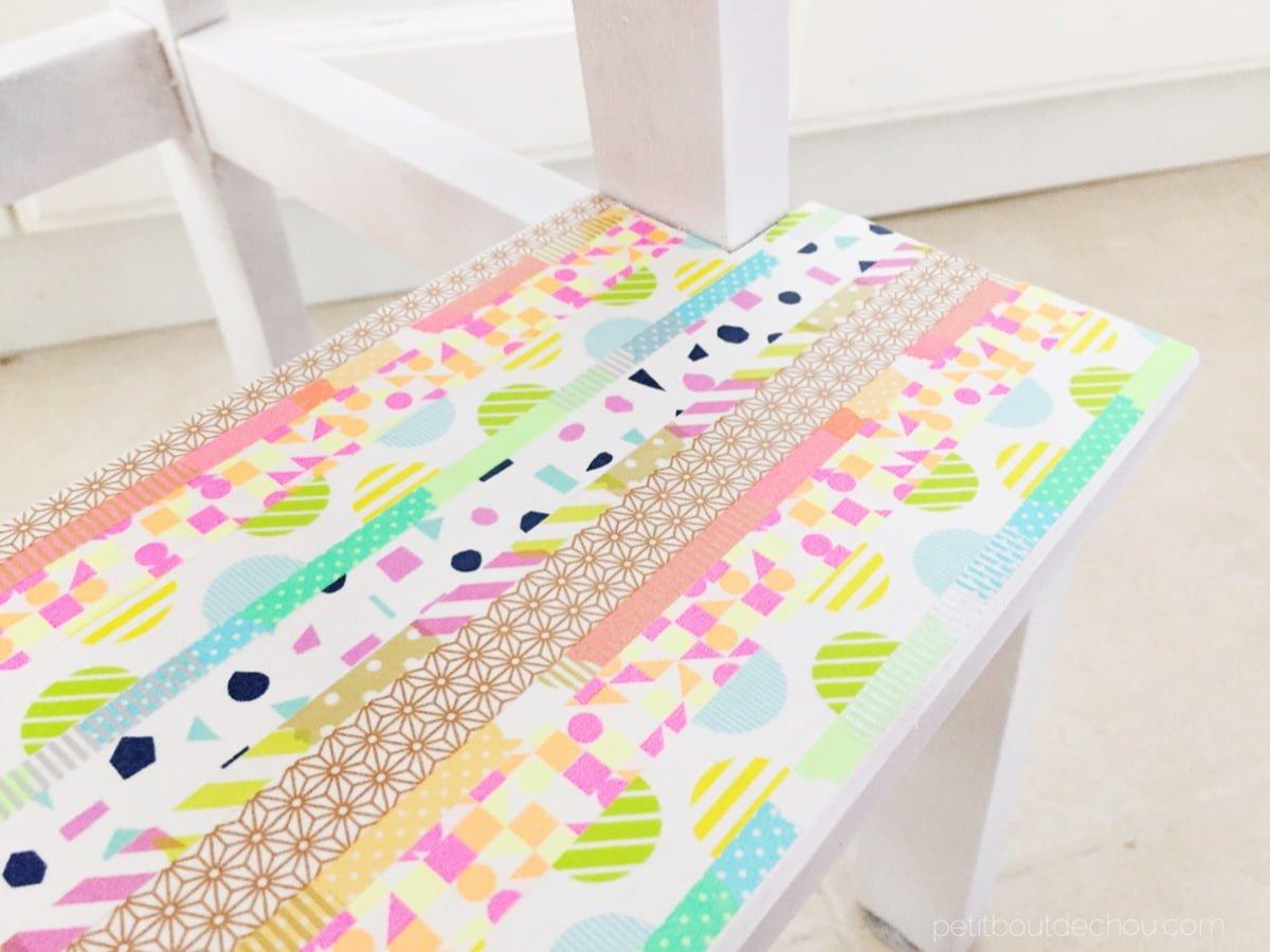 the bekväm step stool gets pretty with washi tape ikea hackers