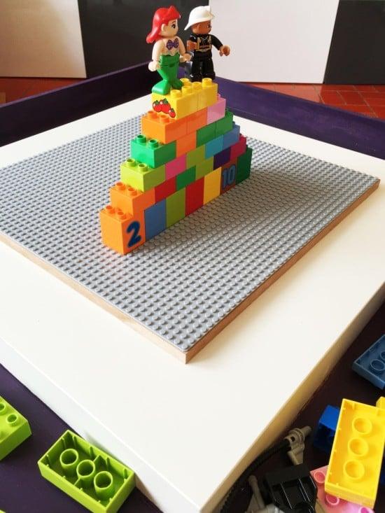 IKEA LACK LEGO table with tray