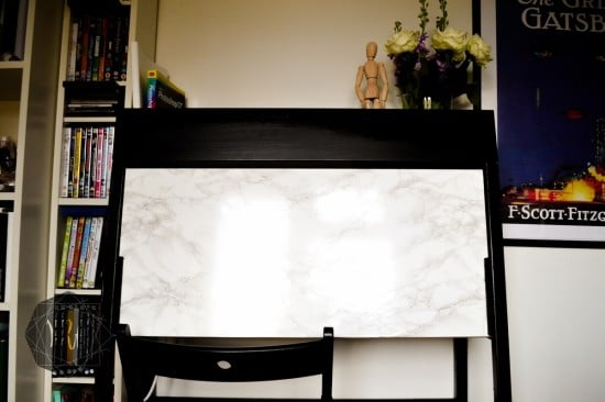 IKEA PS 2014 desk in marble