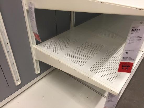 IKEA ALGOT system