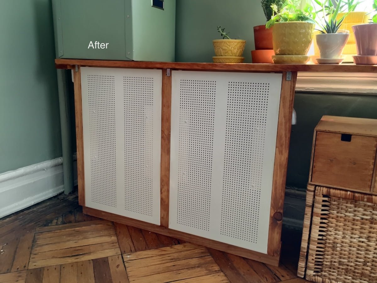 Algot Radiator Cover After