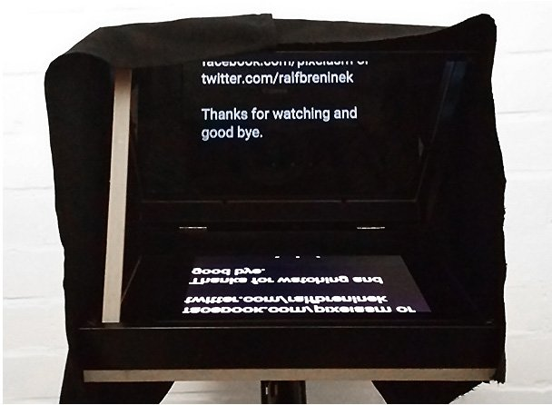 Diy Teleprompter From Ikea Ribba Picture Frames Ikea