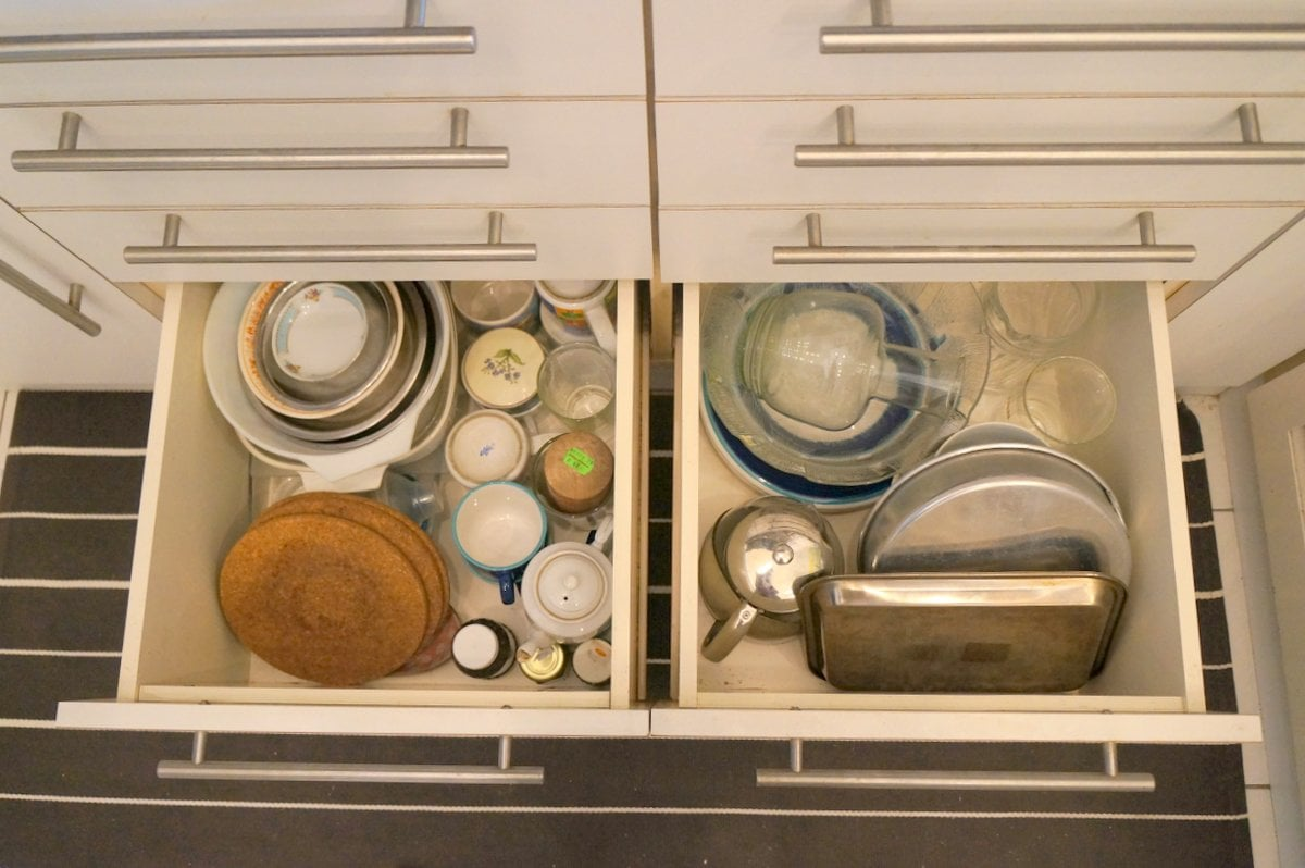 Kitchen Drawer Inserts Ikea How I Use Metod Interior Organisers To Keep My Kitchen Clutter