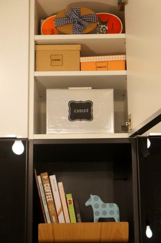 IKEA kitchen organisation - labelling