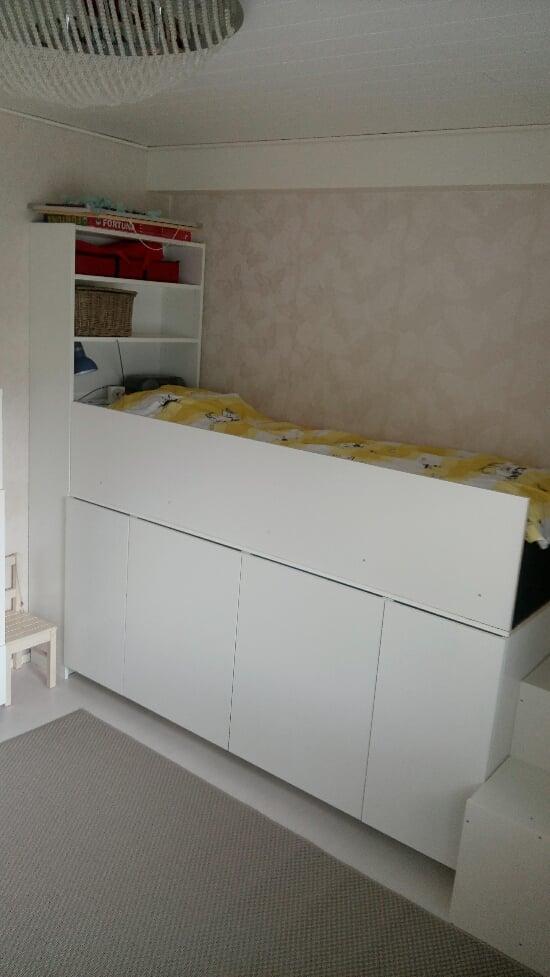 kid's storage bed