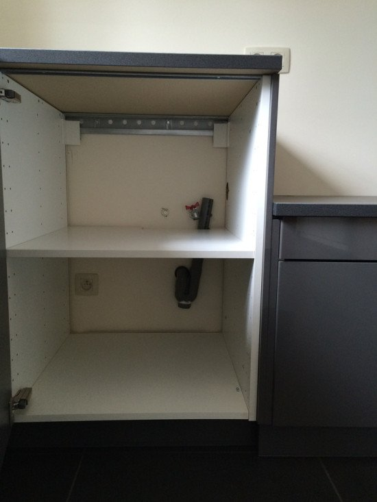 IKEA kitchen cabinets to Laundry room cabinets