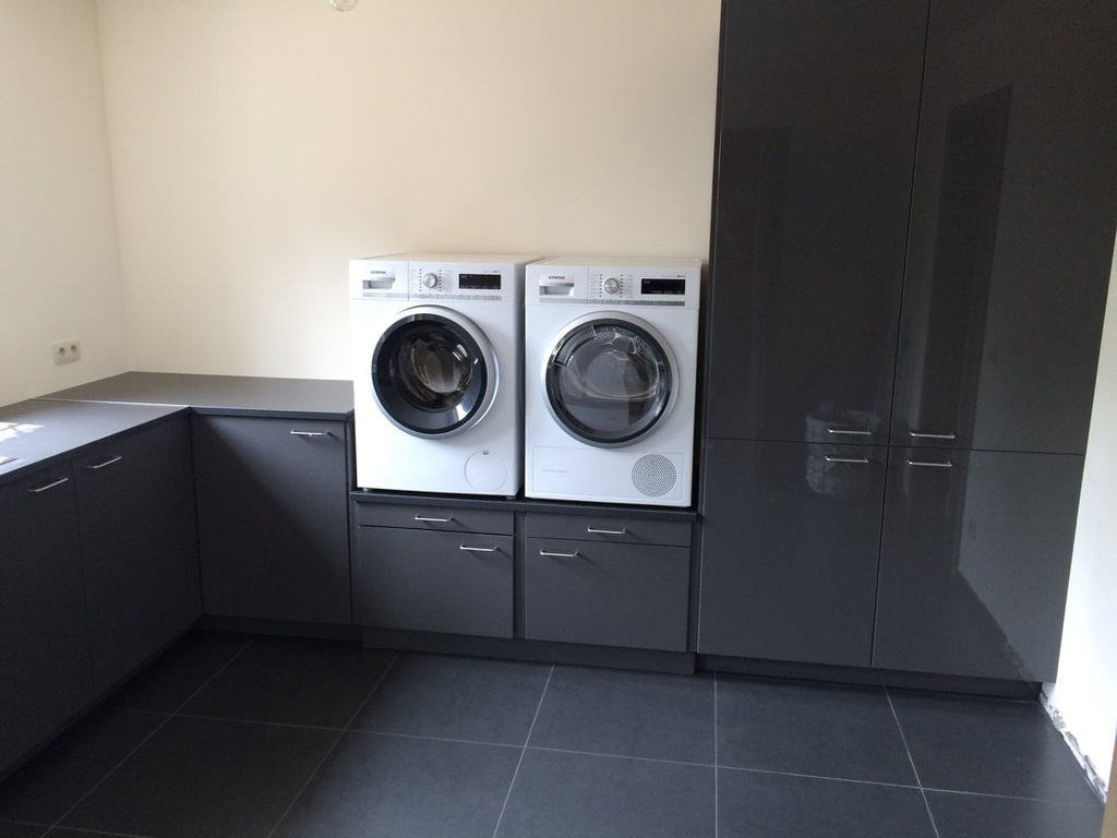 Hacking Laundry Room Cabinets And Washer Dryer Pedestal