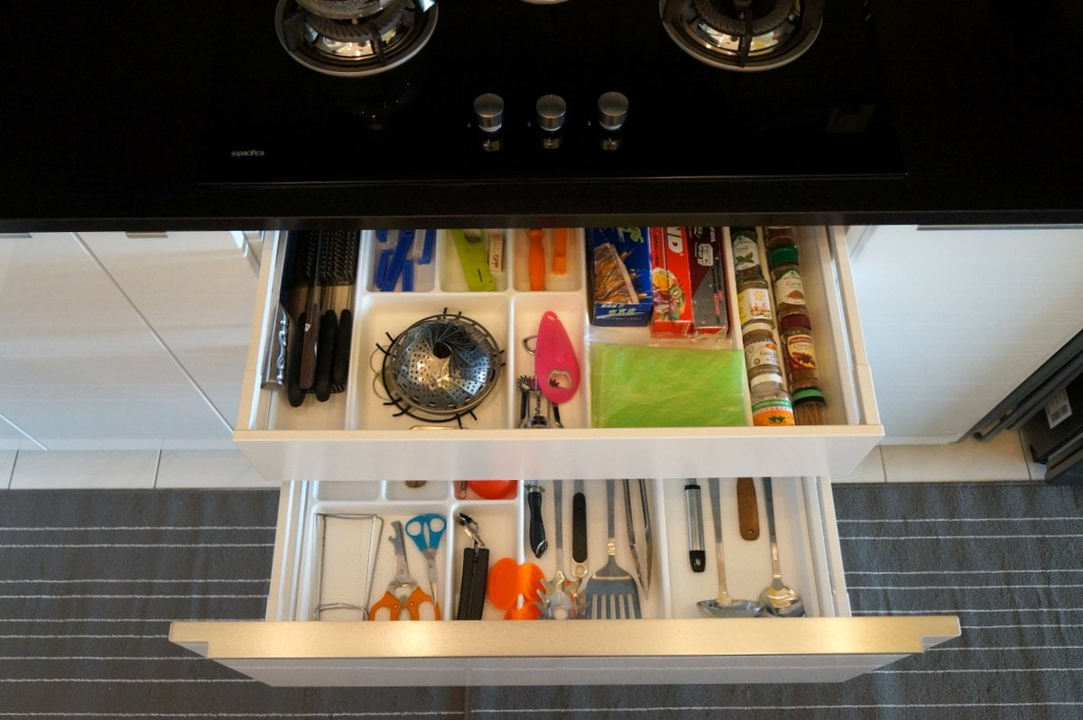 How to use IKEA Kitchen Accessories for a clutter-free kitchen