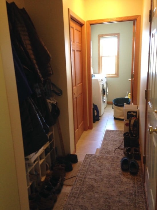 Mudroom Style and Organization using Pax Wardrobes