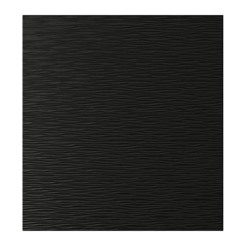 ikea laxviken-door-black