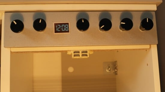 Knobs for the stove