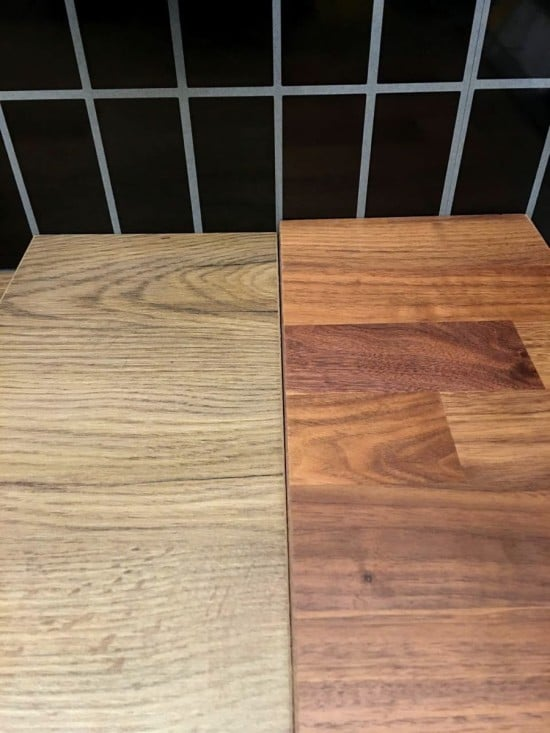 Choosing the worktop