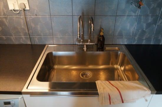 BOHOLMEN sink - fits a wok