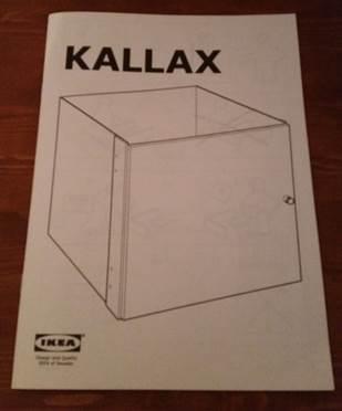 KALLAX door insert