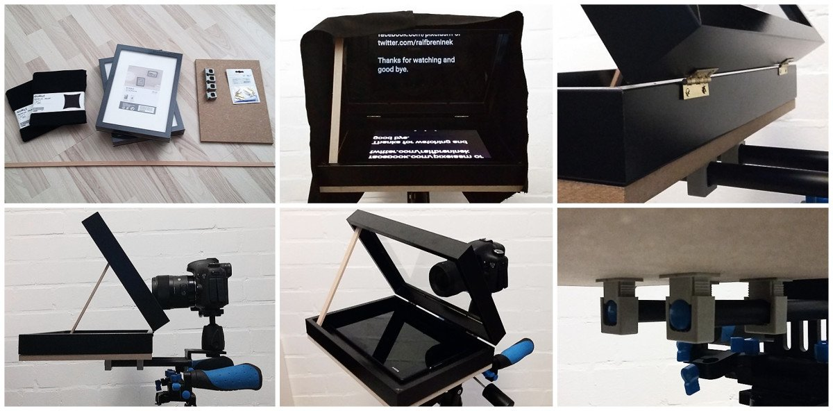 DIY teleprompter from IKEA RIBBA picture frames - IKEA Hackers