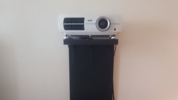 A Video Projector Stand That Won T Screw Up Your Wall