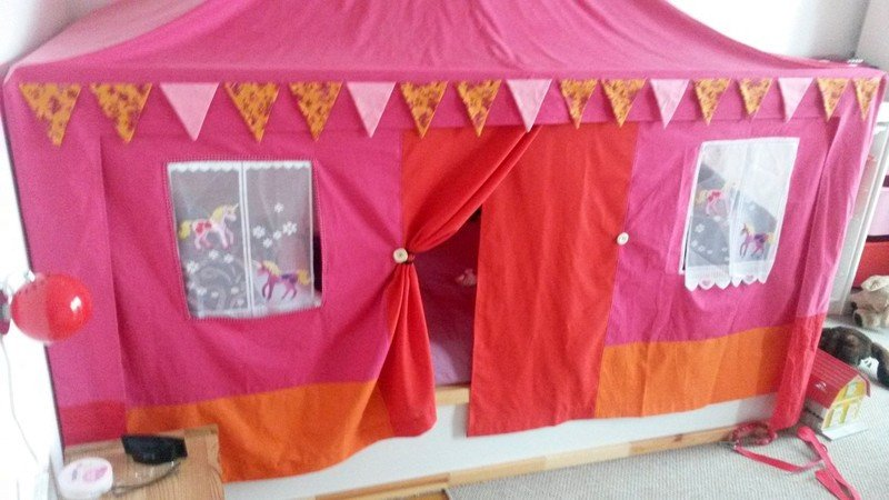 IKEA KURA as a canopy bed & IKEA KURA as a canopy bed | IKEA Hackers | Bloglovinu0027