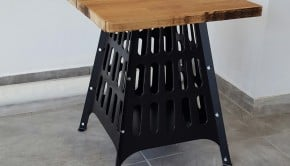 BROKO firepit side table