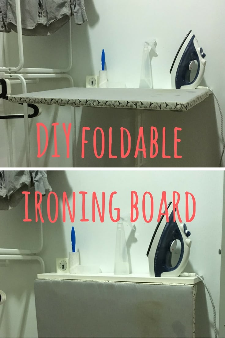 A Space Saving Diy Ironing Board Ikea Hackers