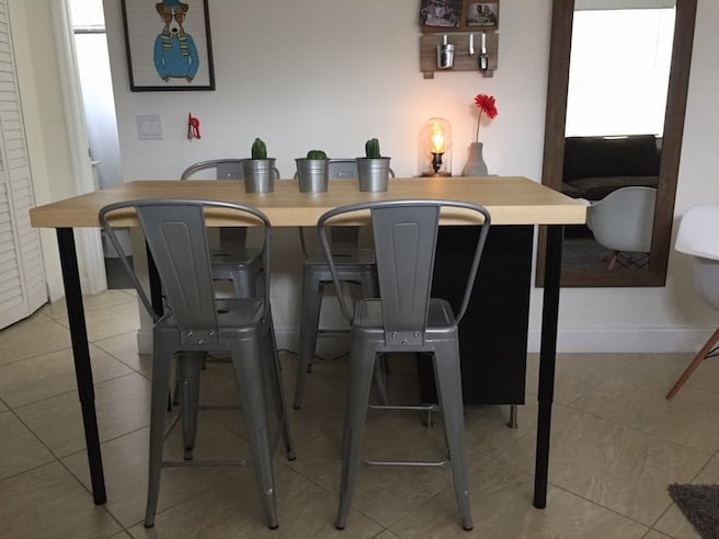 kitchen island dining table ikea hackers bloglovin