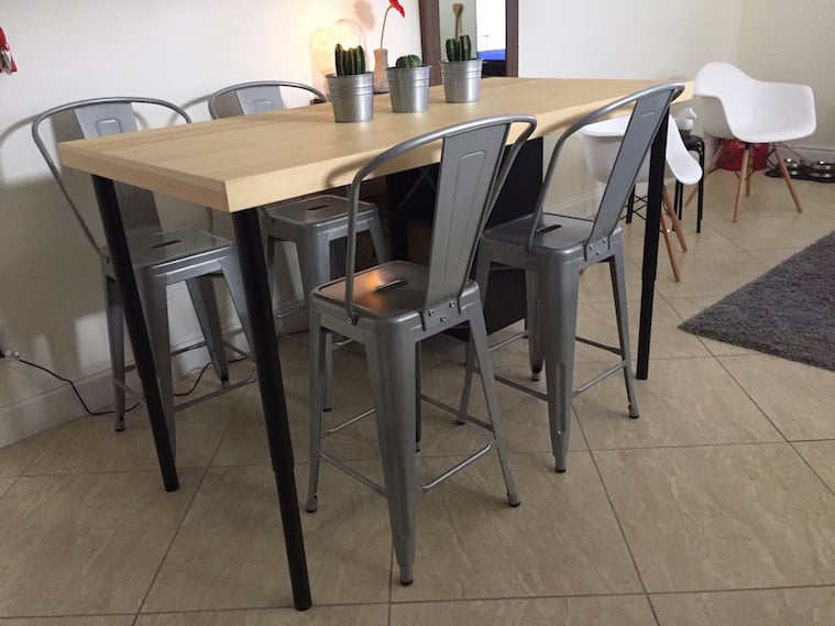 kitchen island dining table ikea hackers ikea hackers