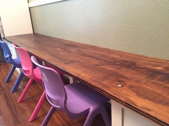 KALLAX kids work table