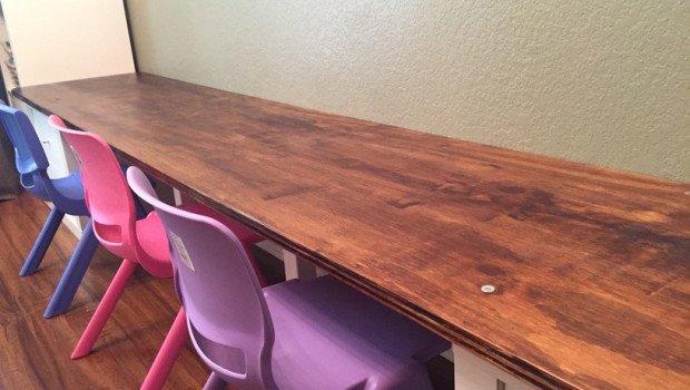 KALLAX kids table 2
