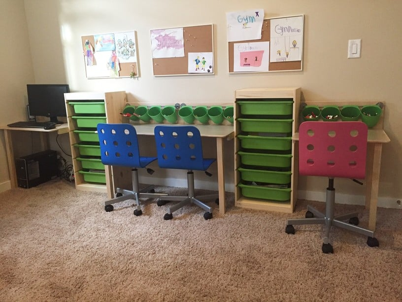 TROFAST Kid Desk And Workstation