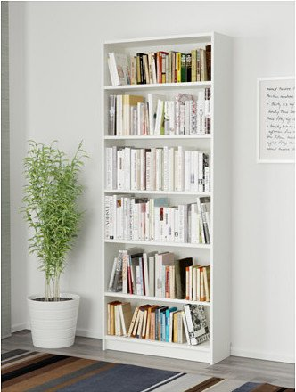 Billy bookcase - white paint match