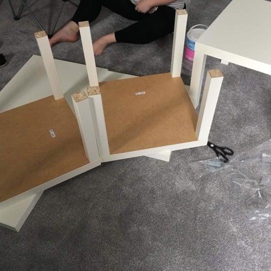 Assemble LACK tables
