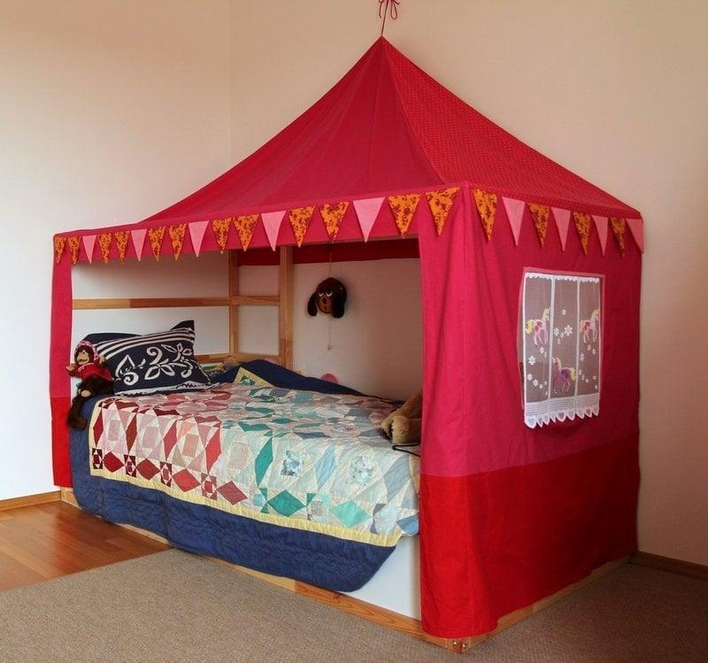 Ikea Kura As A Canopy Bed Hackers