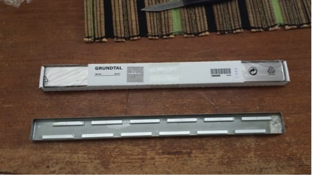 GRUNDTAL knife rack