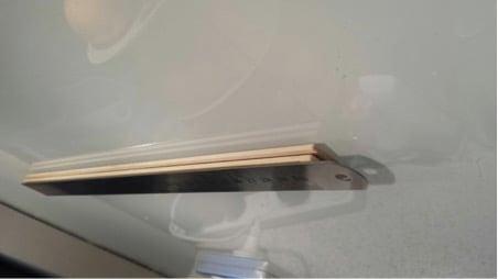 grundtal magnetic knife rack instructions