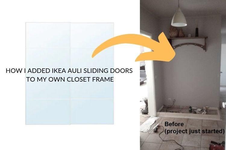 pax sliding doors hack