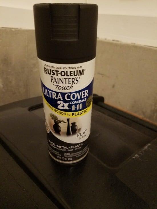 Rust-oleum Painter's Touch Flat Black